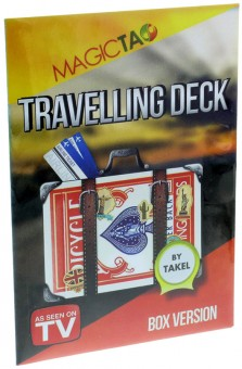 Travelling Deck von Takel Kartenstapel-Version - Rot