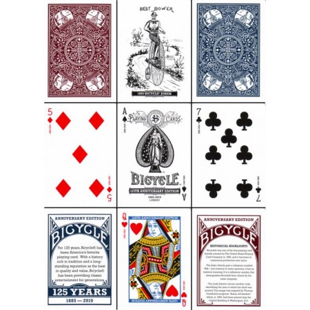 125 year Anniversary Bicycle Deck