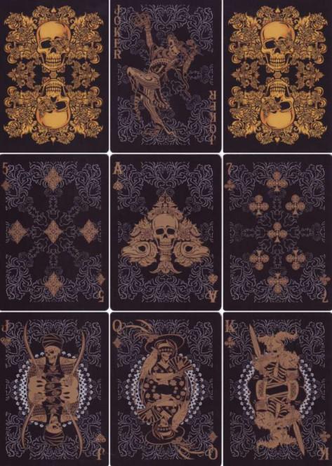 Arcanum Black Spielkarten