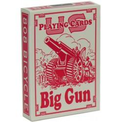 Bicycle Big Gun Spielkarten Rot