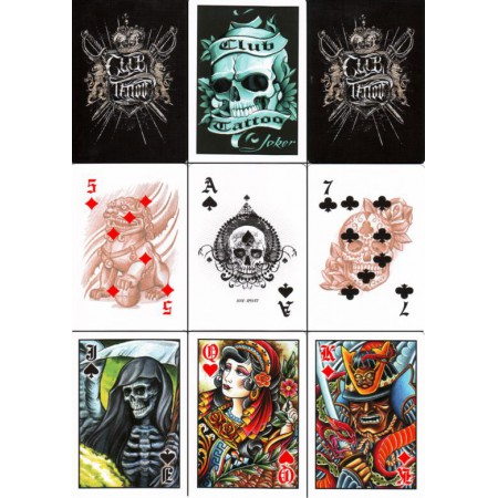 stemaro magic zaubershop bicycle club tattoo deck