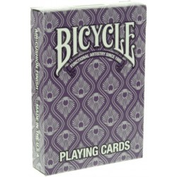 Bicycle Peacock Deck Lila