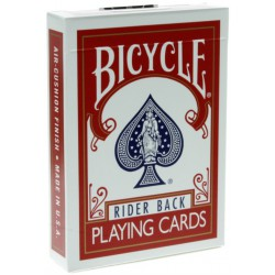 Bicycle Poker 808 Deck (Altes Design) Rot