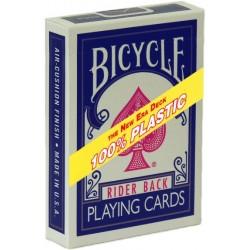 Bicycle 100% Plastic Kunststoff-Spielkarten Blau