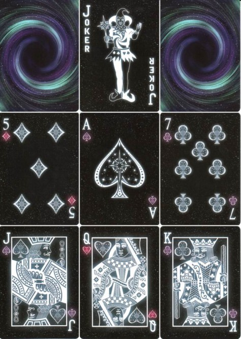 Bicycle Starlight Black Hole Deck