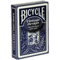 Bicycle Vintage Thistle Back Blau