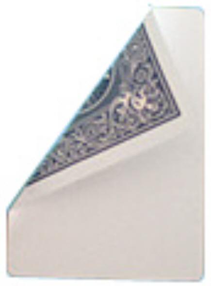 Bicycle Poker Jumbo-Trickkarte (Riesenkarte) Blanko / Blau