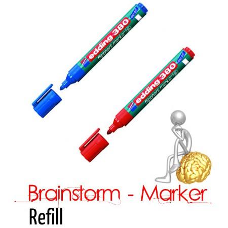 Brainstorm Refill Marker Blau