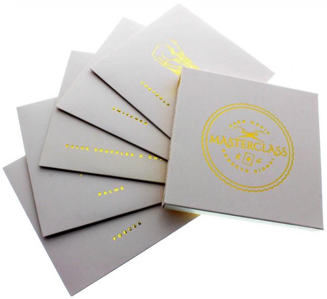 Card Magic Masterclass von Roberto Giobbi (5er DVD-Set)