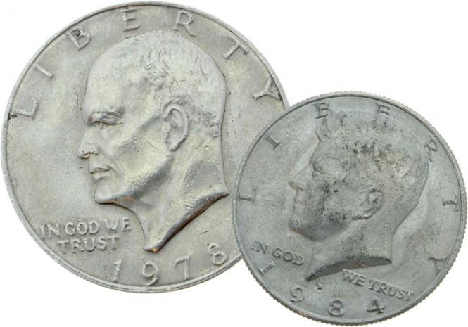 US-Dollar Münze