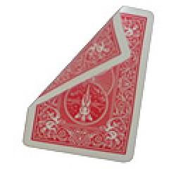 Bicycle Poker Trickkarten Rot / Rot