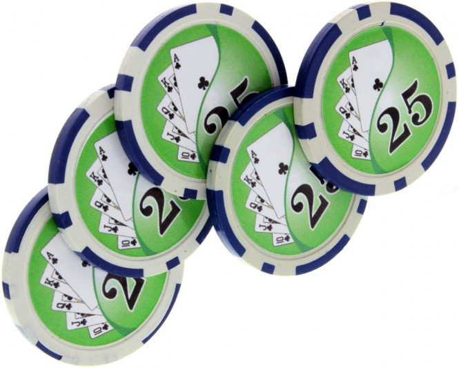 Expanded Shell Pokerchip Set