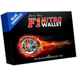 F1 Nitro Wallet Blau