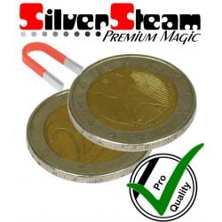 Flipper Münze 2 Euro / magnetisch