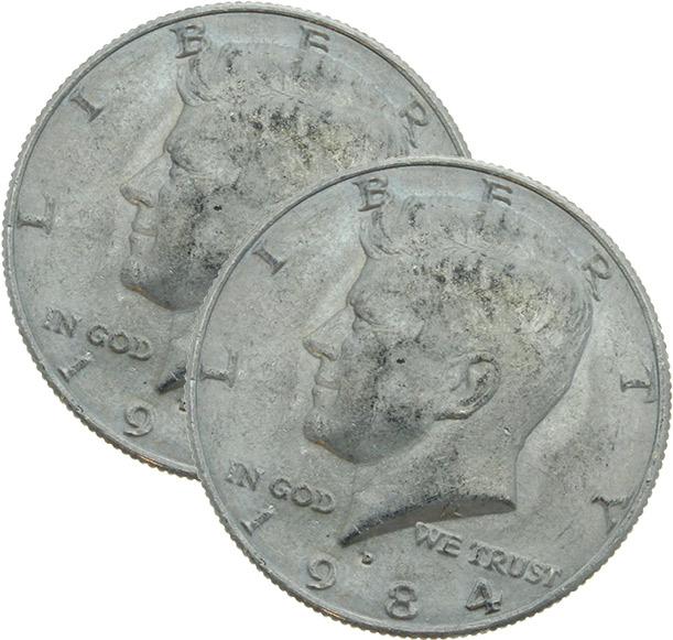 US-Halfdollar Shell (erweitert) Kennedy-Kopf-Prägung