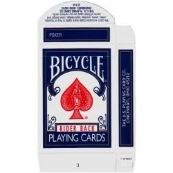 Kartenschachtel Blau