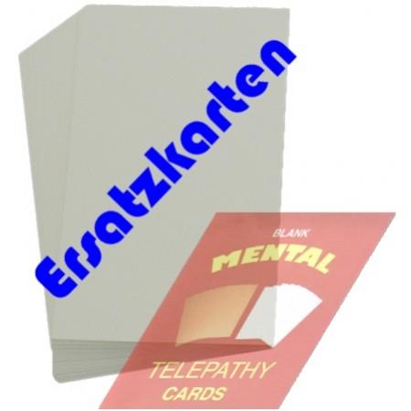 Blank Mental Telepathy Cards Ersatzkarten