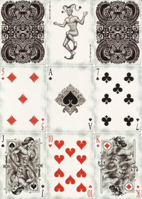 Physique Designer-Spielkarten