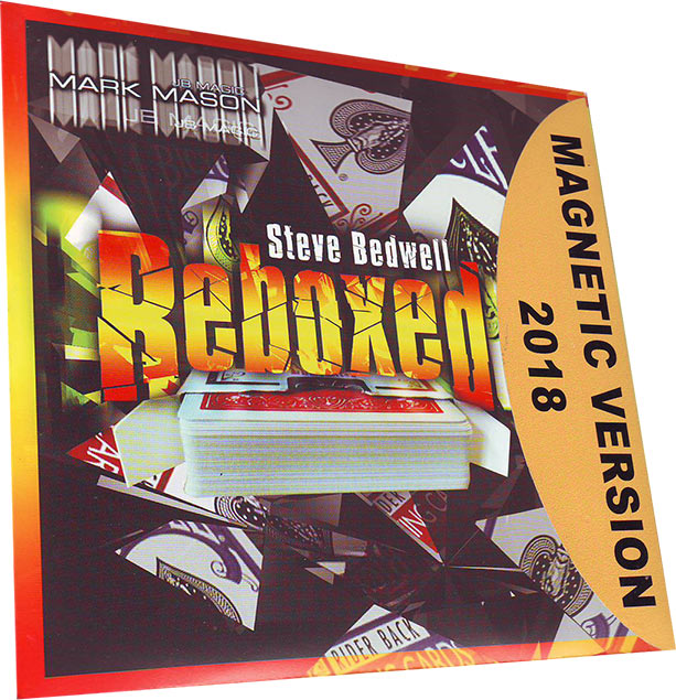 Reboxed von Steve Bedwell (Magnetic Version) Rot