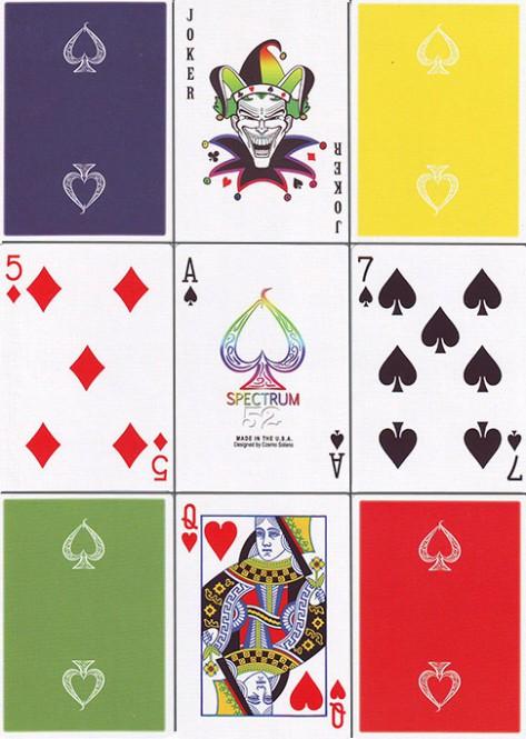 Spectrum 52 Spielkarten