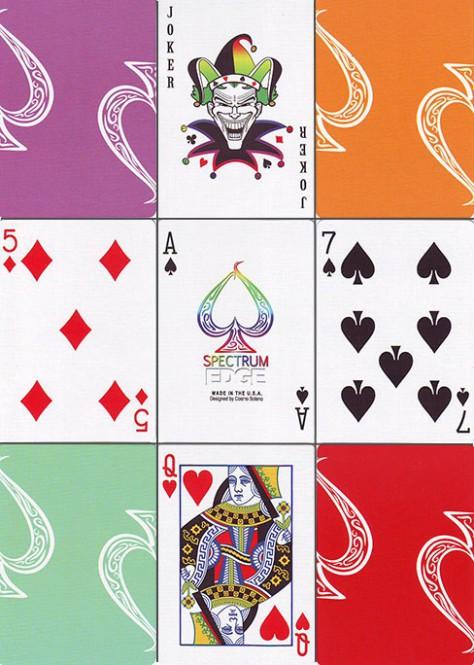 Spectrum Edge Spielkarten