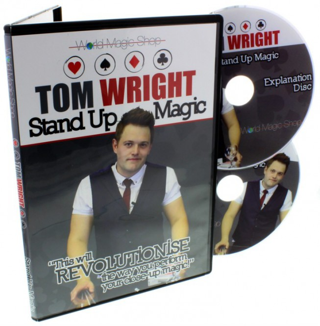 Stand Up Magic (Doppel-DVD) von Tom Wright