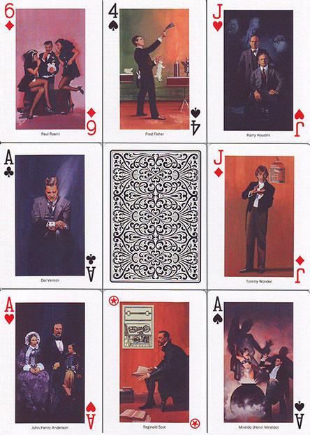 Stars of Magic White Spielkarten