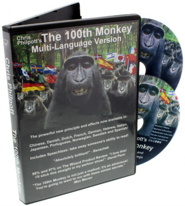 100th Monkey Multi-Language 2er-DVD-Set von Chris Philpott