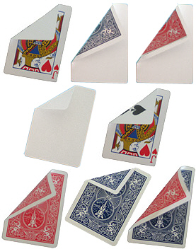 Bicycle Poker Jumbo-Trickkarte (Riesenkarte)