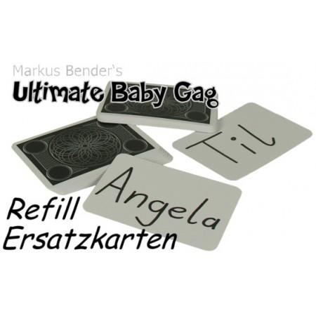 Ultimate Baby Gag Ersatzkarten Ersatzkarten-Set