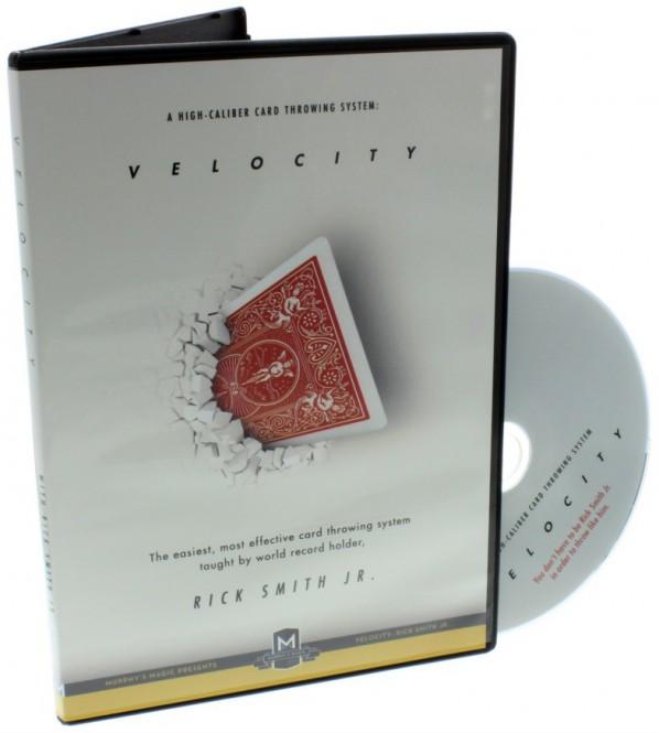 Velocity: High-Caliber Card Throwing System von Rick Smith Jr.