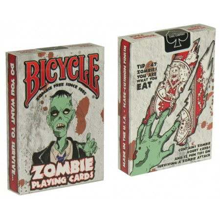 Stemaro magic zaubershop bicycle zombie deck online for Zombie balcony