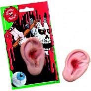 Abgerissenes Ohr aus Gummi