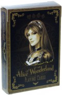 Alice of Wonderland Spielkarten - Gold Edition