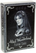 Alice of Wonderland Spielkarten - Silver Edition