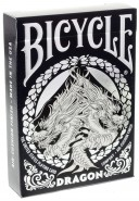 Bicycle Dragon Silver Spielkarten