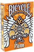 Bicycle Pluma Deck - Orange