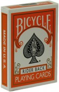Bicycle Poker Color Edition Orange