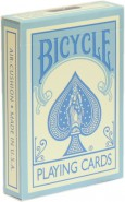 Bicycle Pastel Blue Reverse Deck