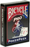 Bicycle Pro Poker Peek