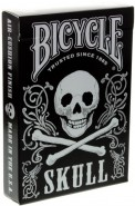 Bicycle Dark Skull Deck (Silver-Edition)