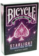 Bicycle Starlight Shooting Star Spielkarten