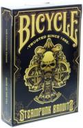 Bicycle Steampunk Bandits Deck - Black
