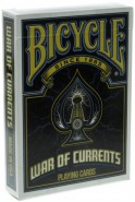 Bicycle War of Currents Deck