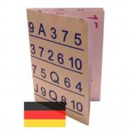 Big Revelation Ersatz-Falttafel (Deutsch)
