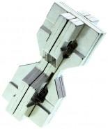 Cast Hourglass Puzzle