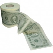 Dollar Toilettenpapier