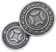 Mechanic Coin (Gunmetal Grey)