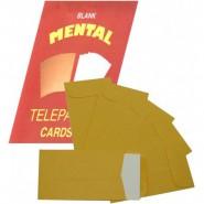 Blank Mental Telepathy Cards