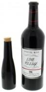 Erscheinende und verschwindende Weinflasche (Premium)